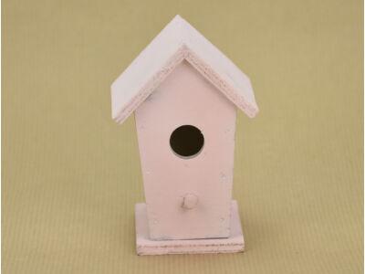 Fa  madáretető pink 6x6,7x10cm
