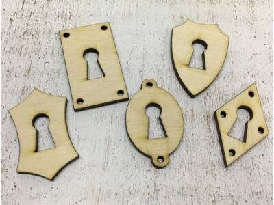 Natúr fa - Kulcslyuk csomag lovag 5db/csomag