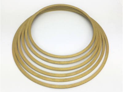 Fa karika szett arany 6db/szett