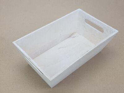 Trapéz alakú fehér dekoláda