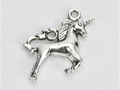 Medál - Unikornis ezüst 5db/csomag