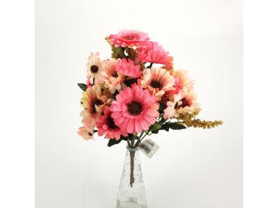 Gerbera csokor rózsaszín 300/#