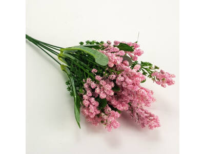 Bogyós csokor rózsaszín 2db/cs